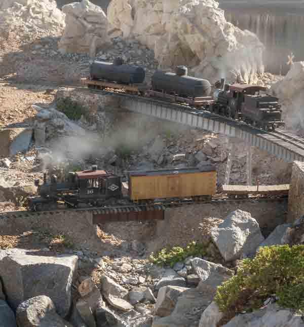 Rebuilding the Snow Creek Railroad