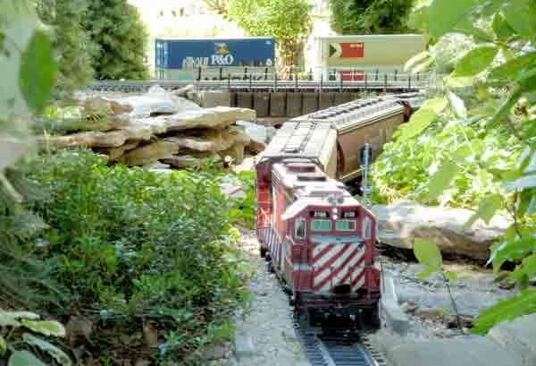 The Wascana Canyon Railway