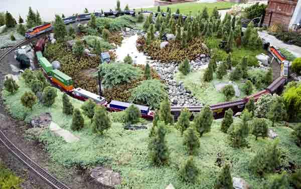 Visit the Morning Glow Railroad