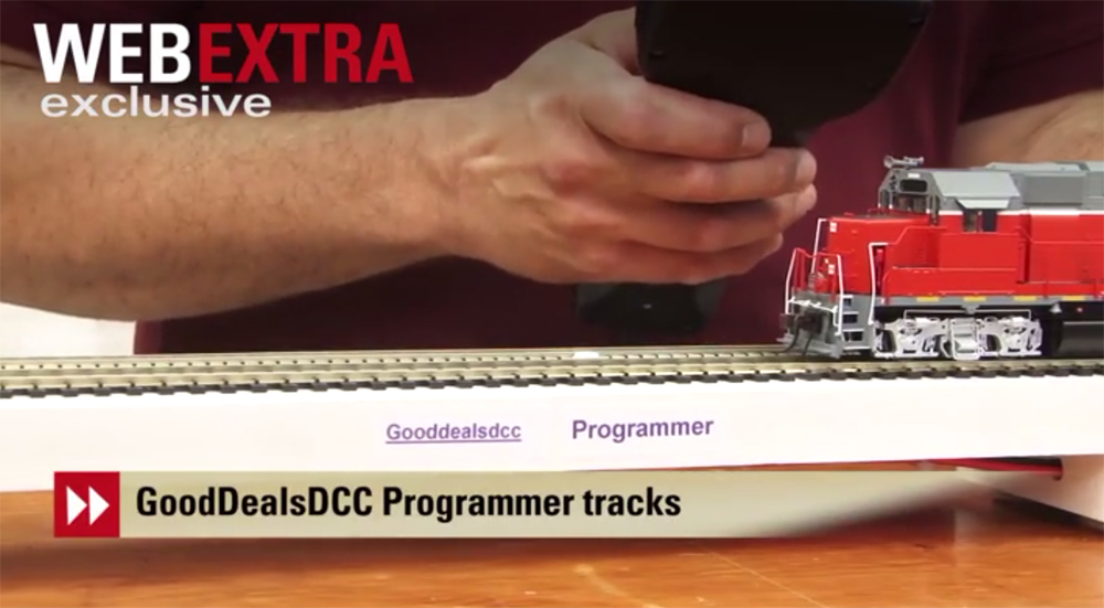 GoodDeals DCC Test Track