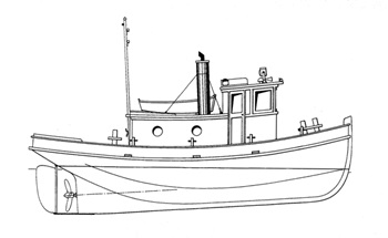 Build the Arnold S. tugboat