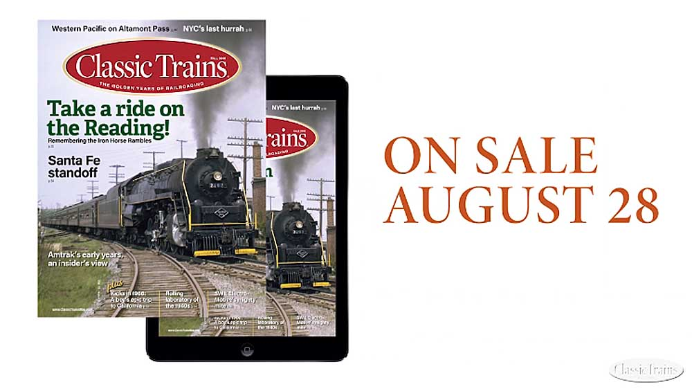 Cover of Classic Trains Fall 2018 issue