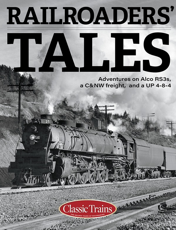 the cover shows a black and white photo of a steam engine