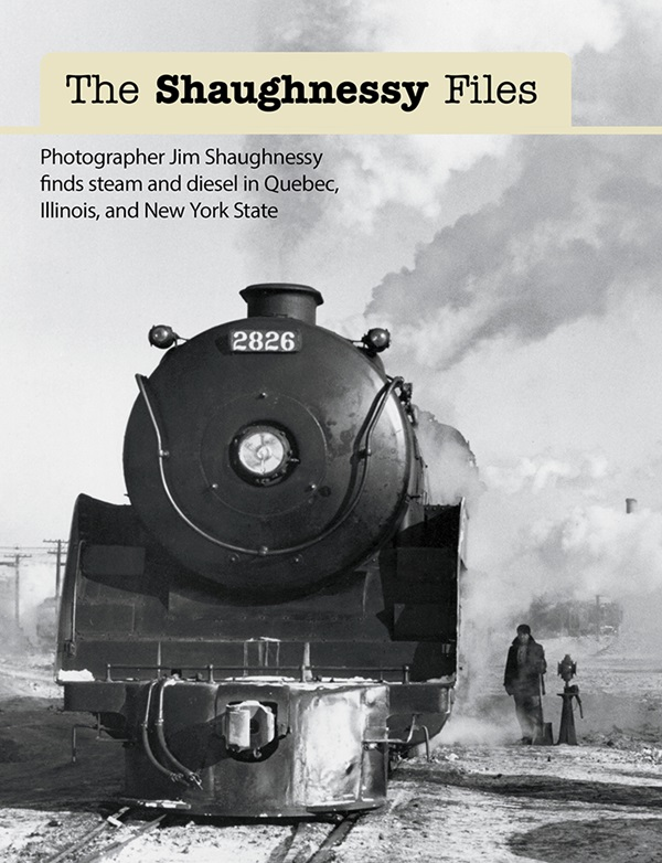the cover shows a vintage black and white photo of a steam engine