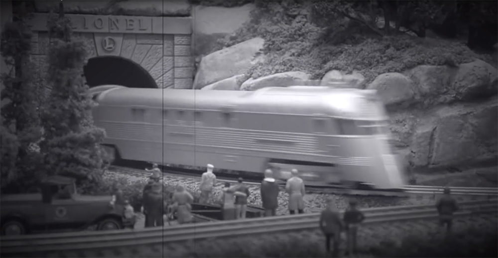 The Zephyr in black and white