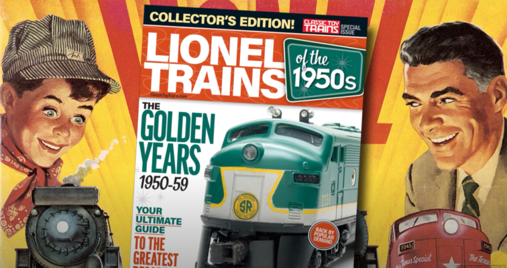Preview Lionel Trains of the 1950s