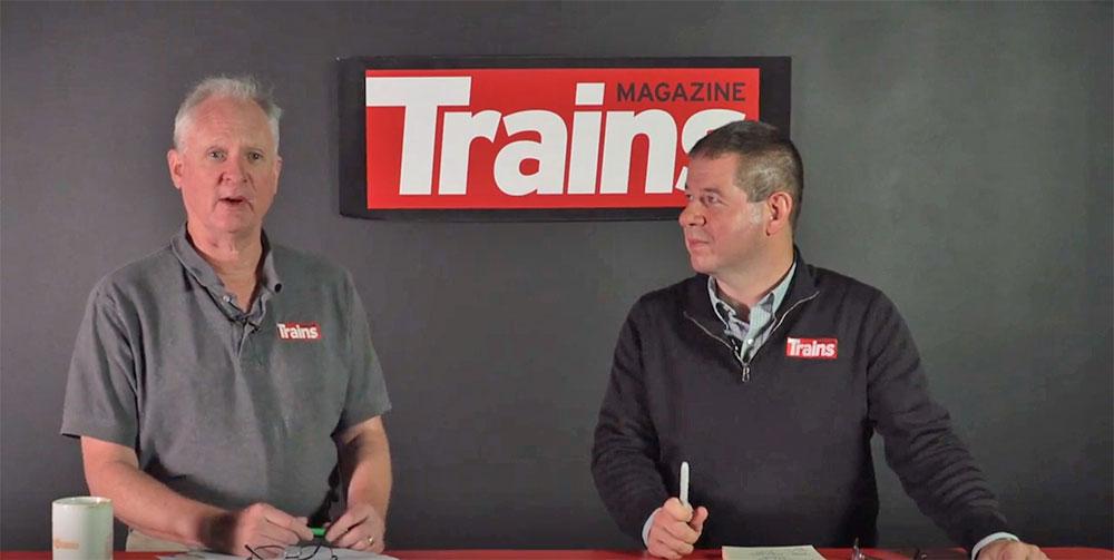 Jim Wrinn and Steve Sweeney for Trains Newswire
