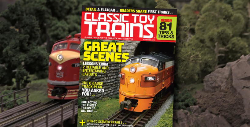 Preview the November 2019 issue of Classic Toy Trains