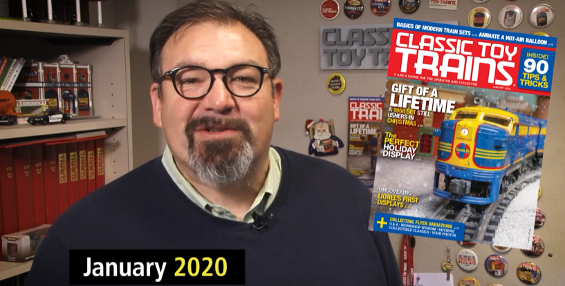 Preview the January 2020 issue of Classic Toy Trains magazine