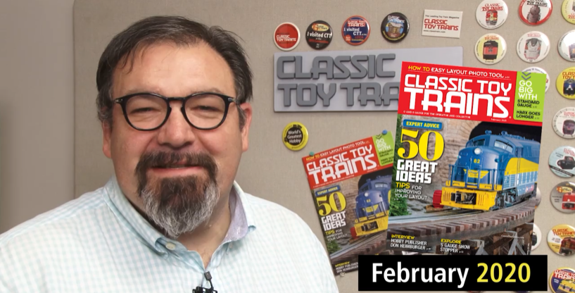 Preview the February 2020 issue of Classic Toy Trains magazine