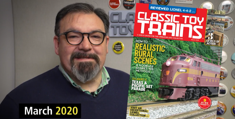 Preview the March 2020 issue of Classic Toy Trains magazine