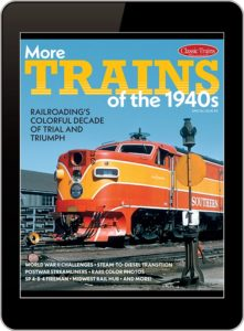 More Trains of the 1940s magazine cover
