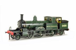 Accucraft live-steam Adams Radial 4-4-2T steam locomotive
