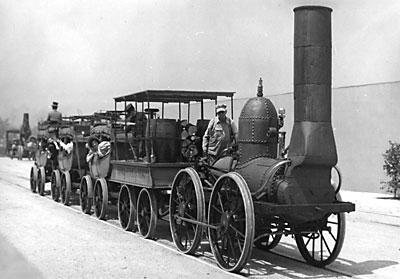 Mohawk & Hudson Railroad's 0-4-0 DeWitt Clinton