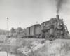 a steam engine passenger train