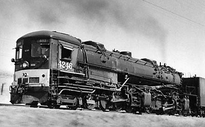 Southern Pacific cab-forward 4-8-8-2 No. 4246