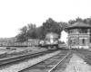 a diesel freight train