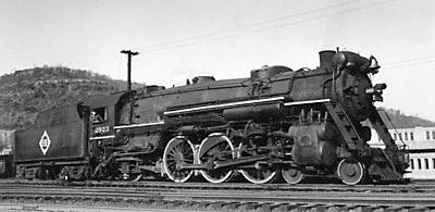 Erie USRA heavy Pacific 4-6-2 No. 2923