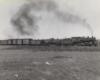 a steam engine freight train