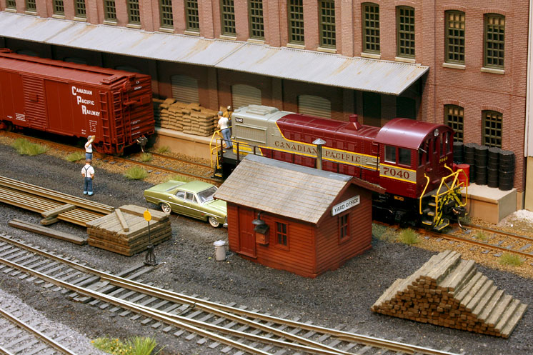 HO scale Canadian Pacific Montreal Terminals_05