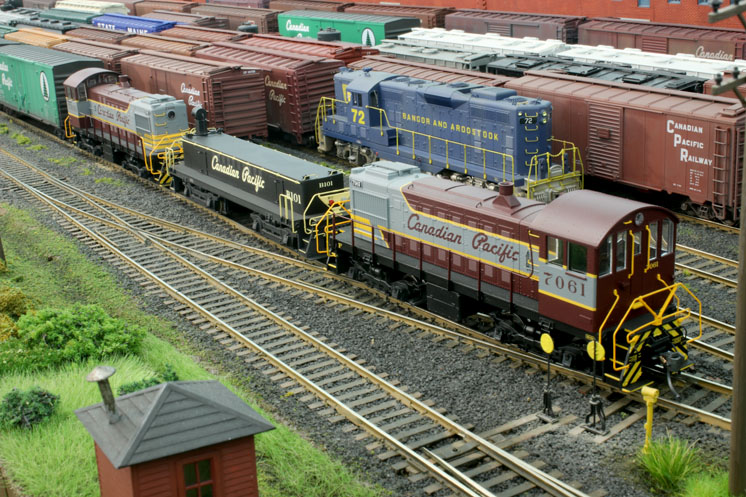 HO scale Canadian Pacific Montreal Terminals_08