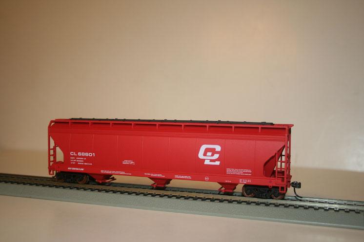 Crescent City Model RR Club HO scale Accurail 4600 ACF hopper kit