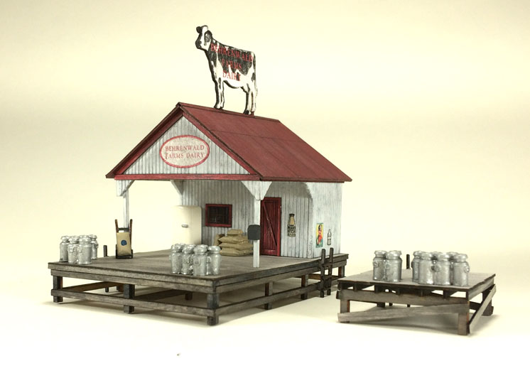 American Model Builders Inc. HO scale dairy transfer stand
