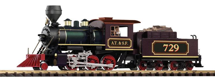 PIKO America large scale 2-6-0 Mogul steam locomotive