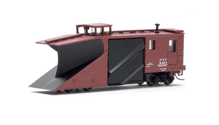 Atlas Model Railroad Co. N scale Russell snow plow