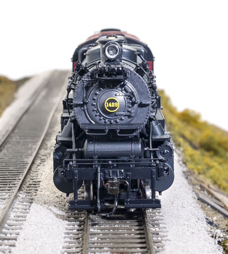 Broadway Limited Imports Paragon3 HO scale Pennsylvania class L1s 2-8-2 steam locomotive