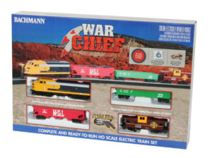Bachmann HO scale War Chief train set