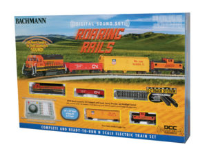 Bachmann N scale Roaring Rails train set