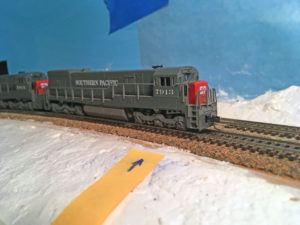 Bad joint in N scale track