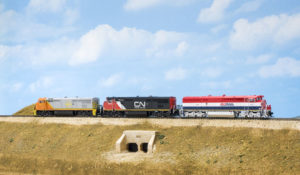 Rapido Trains N scale General Electric Dash 8-40CM diesel locomotive