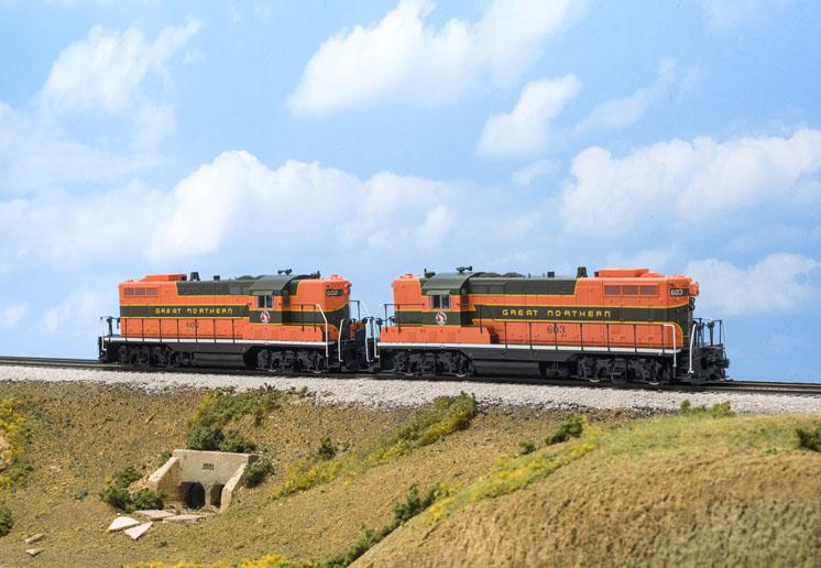 Wm. K. Walthers HO scale Electro-Motive Division GP7 diesel locomotive