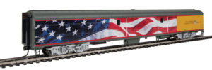 Wm. K. Walthers HO scale Union Pacific 85-foot Heritage Fleet passenger cars