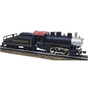 Model Power HO scale 0-4-0 steam locomotive