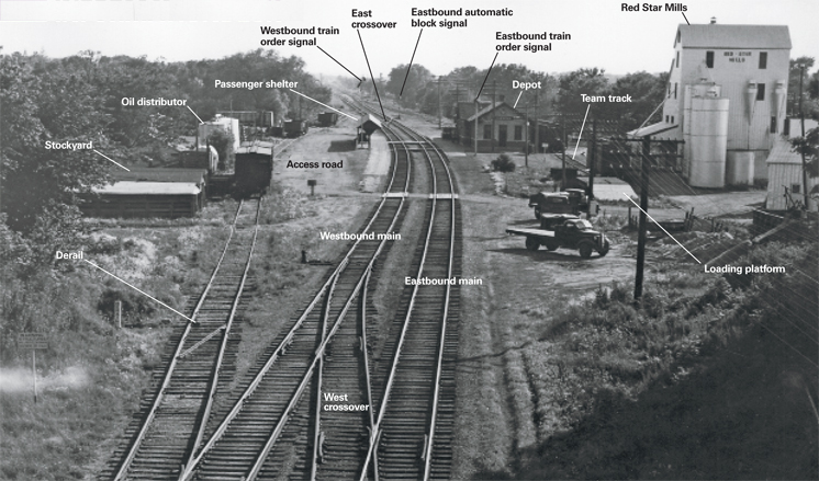 Smalltownrailroadingintheearly1950s