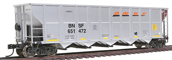Walthers Gold Line series HO scale Trinity RD-4 Coal Hopper 6-Pack