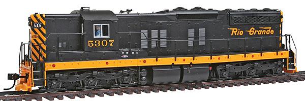 Walthers Proto 2000 EMD SD9 diesel locomotive