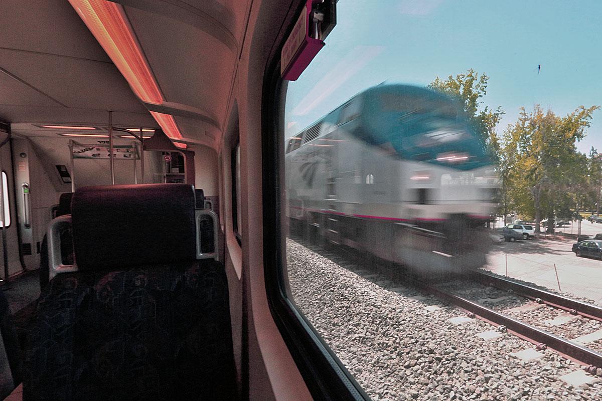 AmtrakMetrolinkChatsworthCA