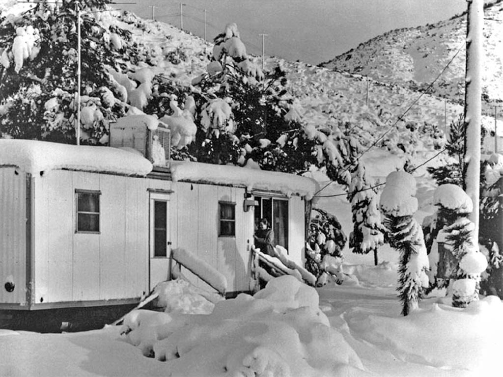 Railroad operator's boxcar