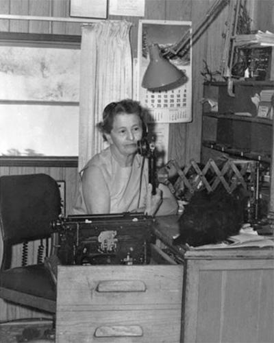 Railroad operator Leah Rosenfeld