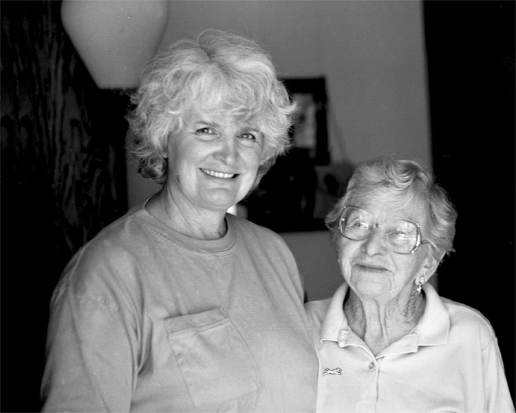 Shirley Burman and Leah Rosenfeld