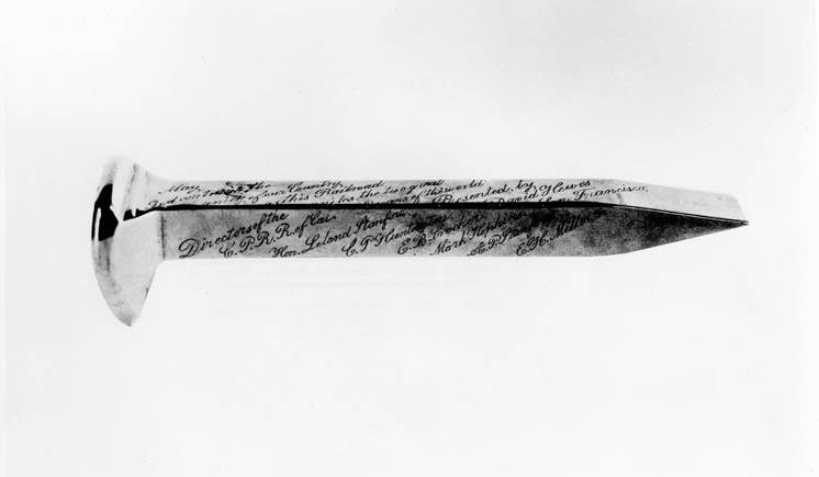 The Transcontinental Railroad's Golden Spike