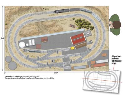 Starter set expansion plans (Lionel O gauge tubular track)