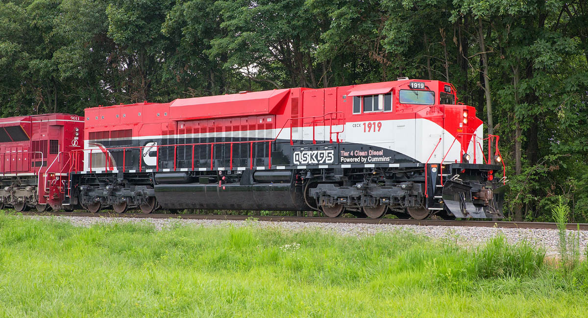 CumminsQSK95testlocomotive1919