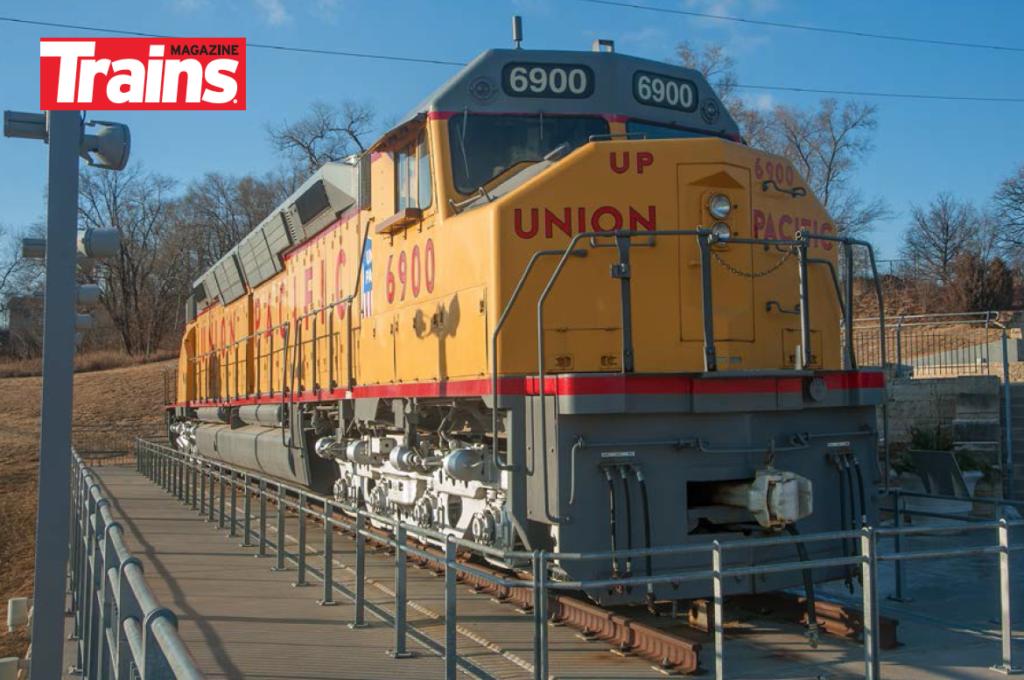 Original DDA40X is on display in Omaha, Nebraska.