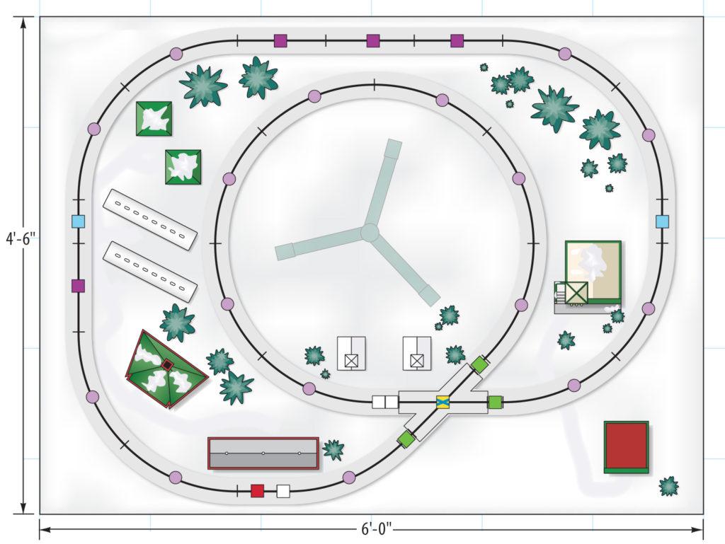 easy_christmas_trackplan