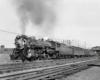 A locomotive on the tracks